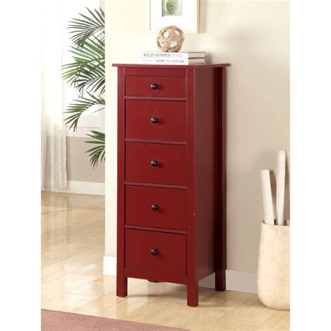 Johannes 5 Drawer Accent Chest