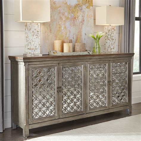 Joie 4 Door Accent Cabinet
