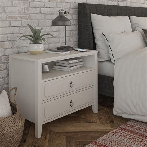 Jumaane 2 Drawer Nightstand