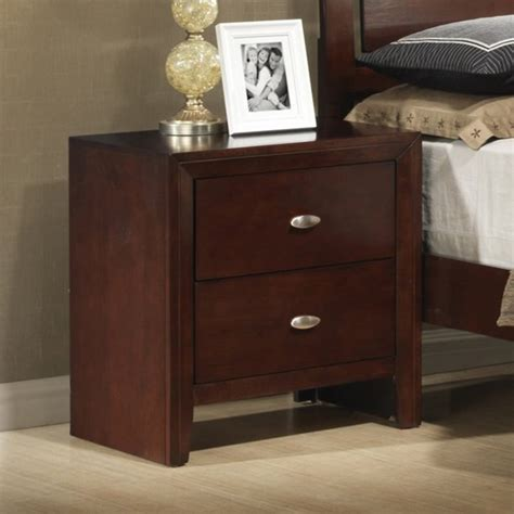 Jurupa 2 Drawer Nightstand