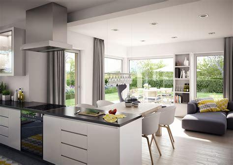 Küche Und Wohnzimmer Offen