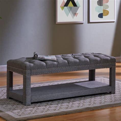 Karlton Upholstered Storage Bench