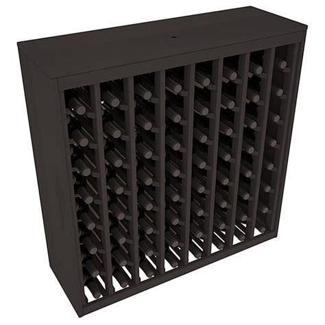 Karnes Pine Deluxe 64 Bottle Floor Wine Rac by