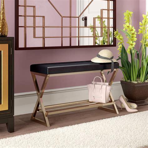 Karsyn Faux Leather Storage Bench