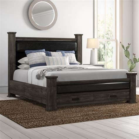 Katarina Platform Bed by 17 Stories