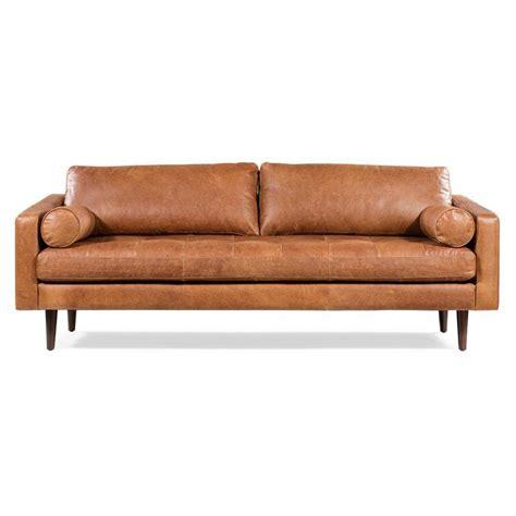 Kate Leather Standard Sofa