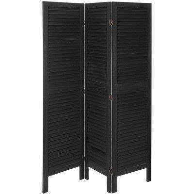 Kathlene 3 Panel Room Divider
