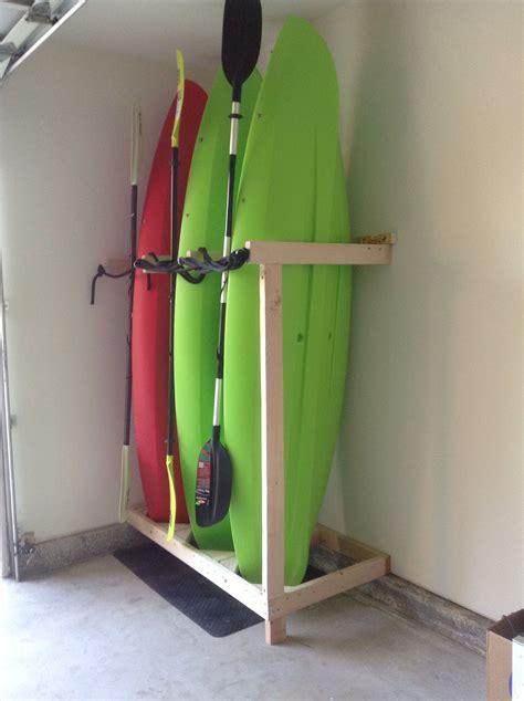 Kayak Storage Garage Diy