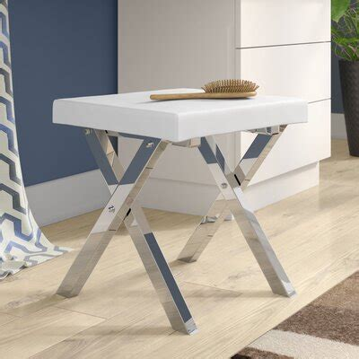 Kayden Folding Vanity Stool