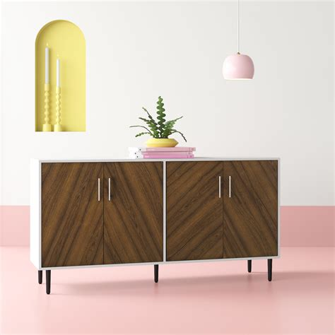 Keiko Modern Bookmatch Buffet Table