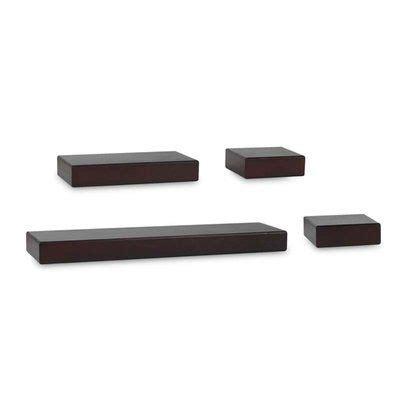 Kellar Chunky Ledge 4 Piece Wall Shelf Set