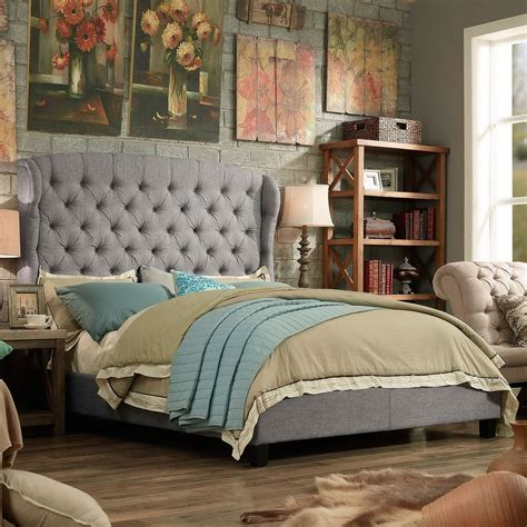Kellar Tufted Upholstered Panel Bed by Everly Quinn