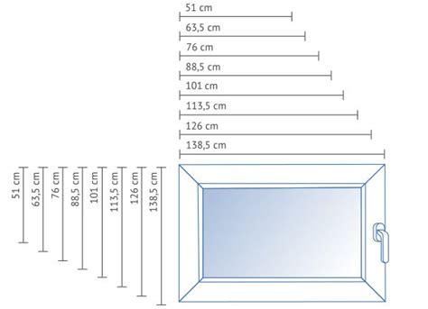 Kellerfenster Maße