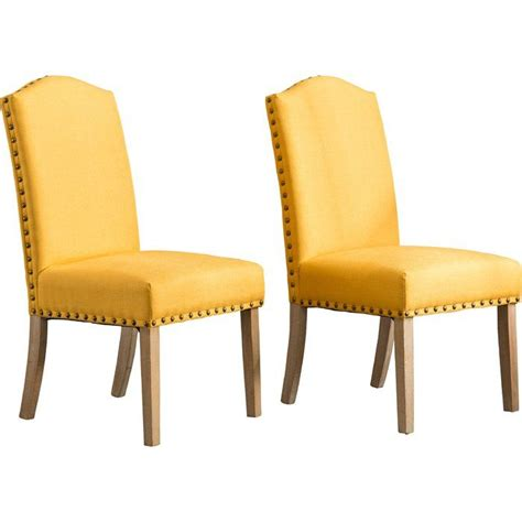 Kenleigh Urban Upholstered Dining Chair (Set of 2)