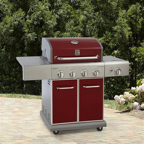 Sears Credit Card Apr Rate Kenmore 4 Burner Lp Gas Grill With Side Burner Sears
