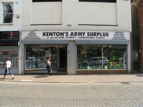 Army-Surplus Kentons Army Surplus Dartford.
