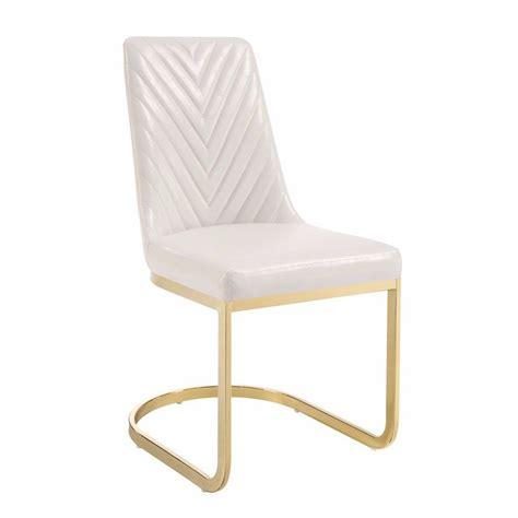 Kepler Metal Upholstered Dining Chair (Set of 2)