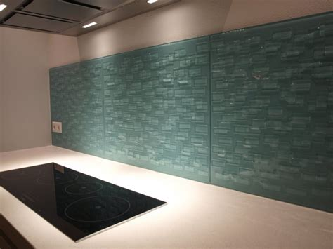 Keuken Achterwand Draadglas