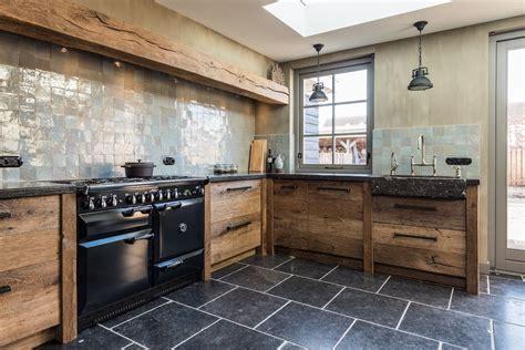 Keuken Rustiek Eiken