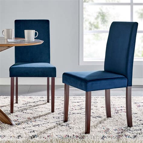 Keyesport Upholstered Parsons Chair (Set of 2)