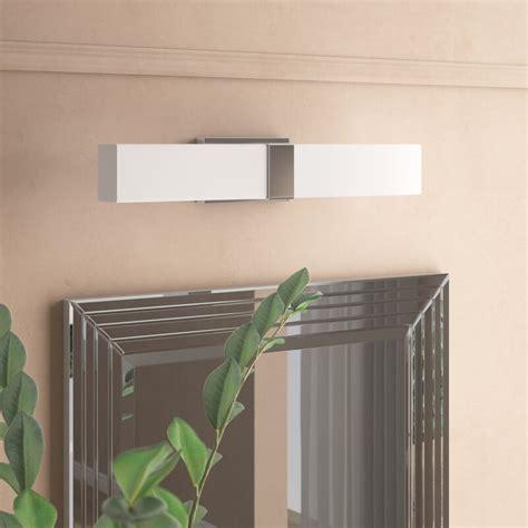 Kianna 1-Light LED Steel Bath Bar