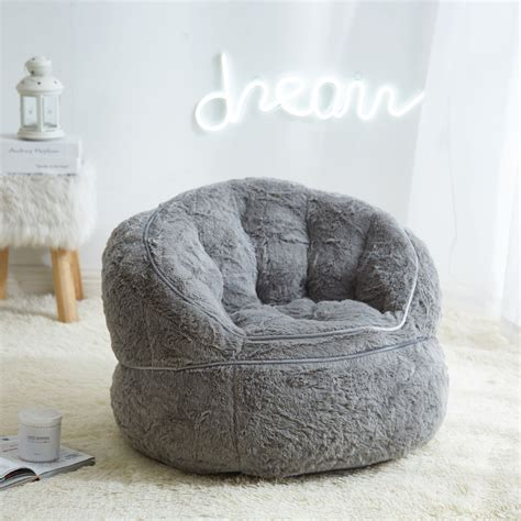 Kids Upholstered Bean Bag Chair