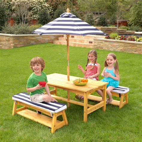 Kids Bench Table