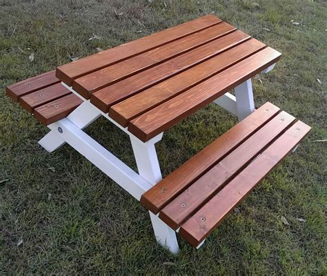 Kids Wooden Outdoor Table