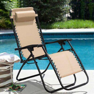 Kidsgrove Adjustable Reclining Zero Gravity Chair (Set of 2)