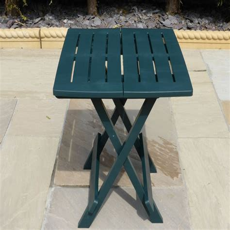 Kight Folding  Plastic/Resin Side Table