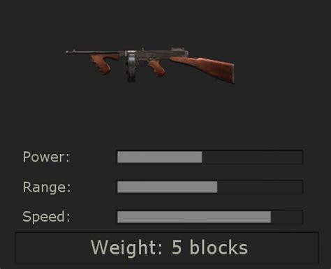 Tommy-Gun Killing Floor Rising Storm Tommy Gun.