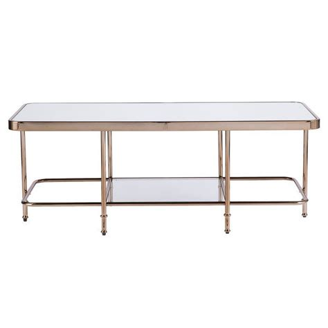 Kimberlin Mirrored 2 Piece Coffee Table Set