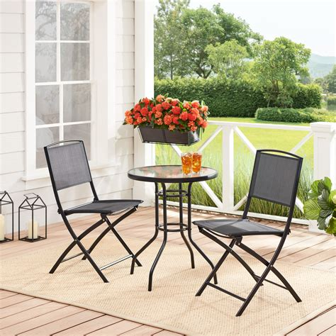 Kincade 3 Piece Outdoor Bistro Set