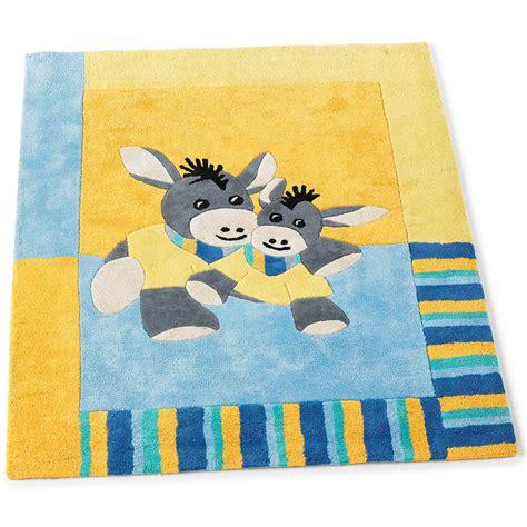 Kinderzimmer Teppich Esel