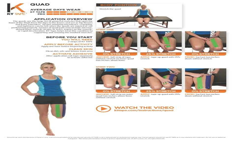 kinesio tape hip flexor and absence