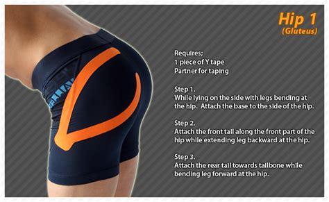 kinesio tape hip flexor tendonitis in dancers