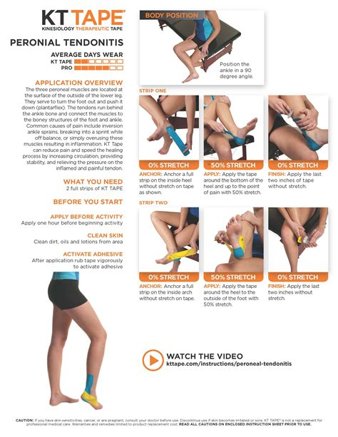 kinesio tape hip flexor tendonitis stretches ankle ligaments