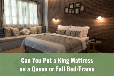King Bed Frame Elevated Can You Put A Mattress Directly On A Bed Frame