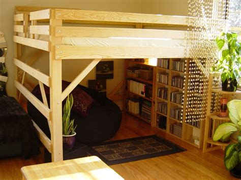 King Size Loft Bed Plans