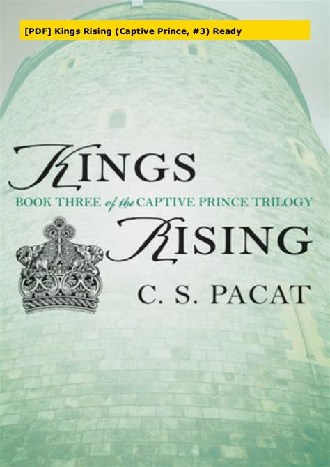 Read Books Kings Rising (Captive Prince #3) Online