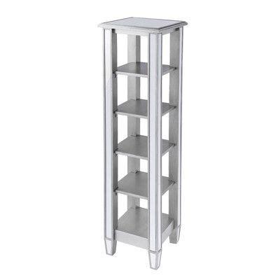 Kingsbury Mirrored Standard Bookcase
