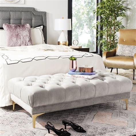 Kingsdown Tufted Upholstered Bench