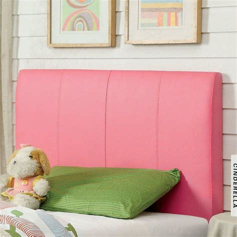 Kinnelon Upholstered Pink Panel Headboard