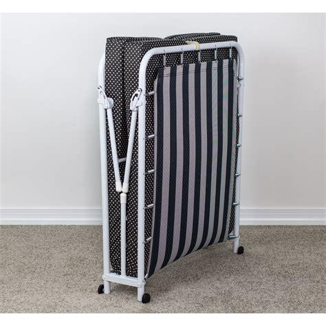 Kircher Memory Foam Rollaway Guest Bed with Mattress