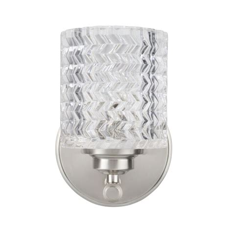 Kirksey Metal 1-Light Bath Sconce