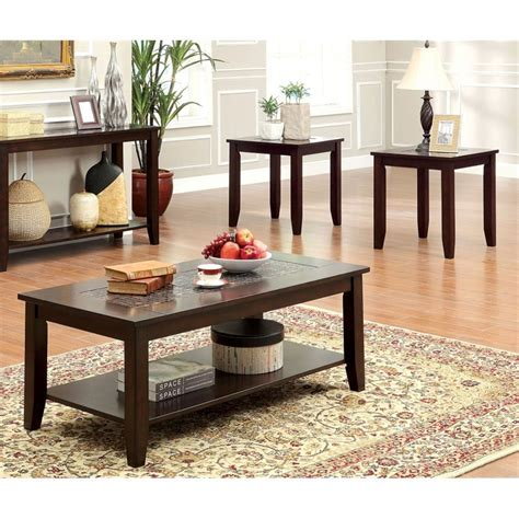Kirsten 3 Piece Coffee Table Set