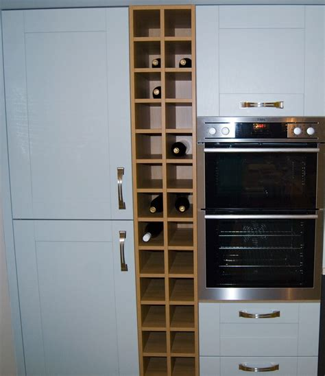 kitchen wine rack unit
