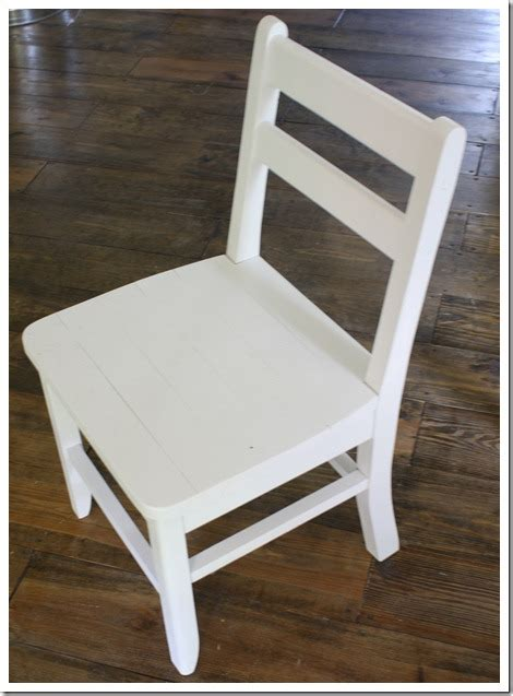 Kitchen Chair Plans Diy