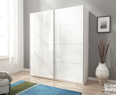 Kleiderschrank Hochglanz Weiß Schiebetüren Neue Fotos Schlafzimmer