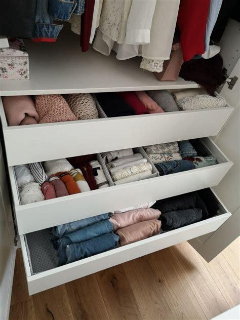 Kleiderschrank Ordnung Diy